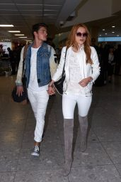 Bella Thorne at Heathrow Airport in London, September 2015