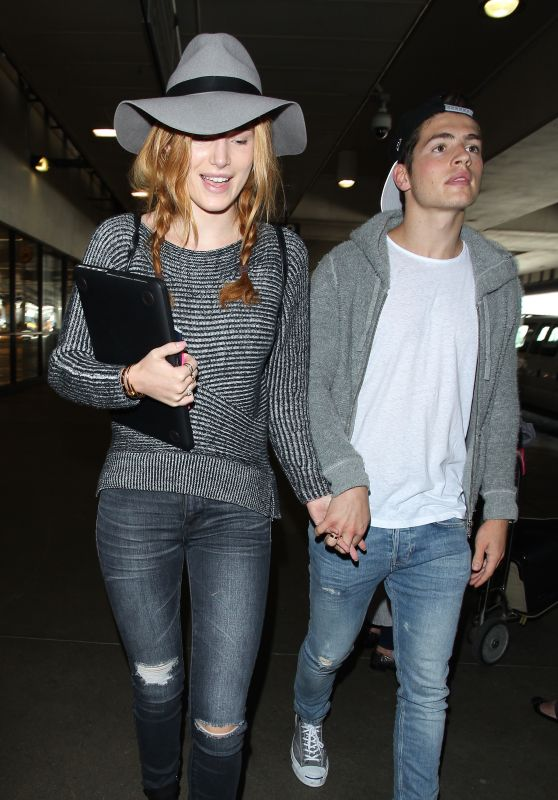 Bella Thorne at LAX Airport, September 2015