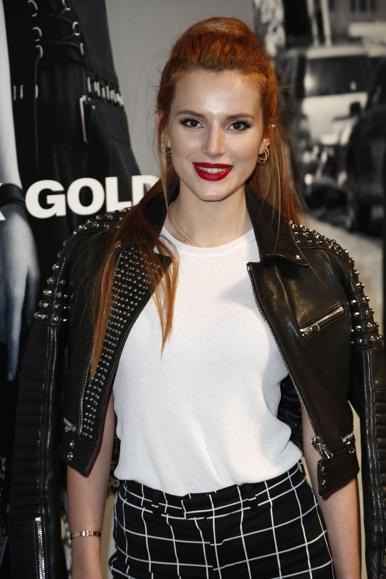 Bella Thorne - Diesel Black Gold Fashion Show ~ Spring ...