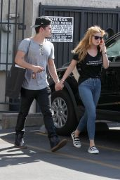 Bella Thorne in Tight Jeans - Out in Los Angeles, September 2015