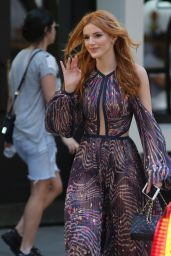 Bella Thorne - Leaving Her Hotel in New York City, September 2015