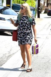 Busy Philipps - Outside Meche Salon in West Hollywood, September 2015