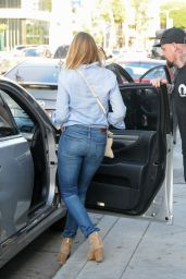 Cameron Diaz Booty in Jeans - Out in Beverly Hills, September 2015