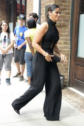 Camila Alves Street Fashion - Out in NYC, September 2015