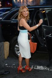 Candace Cameron Bure - Out in NYC, September 2015