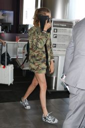 Cara Delevingne at LAX Airport, September 2015