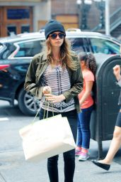 Cara Delevingne Casual Style - Out in NYC, September 2015
