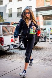 Cara Delevingne Headed to Gym in New York City, September 2015
