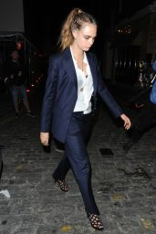 Cara Delevingne - Louis Vuitton After Party in London, September 2015
