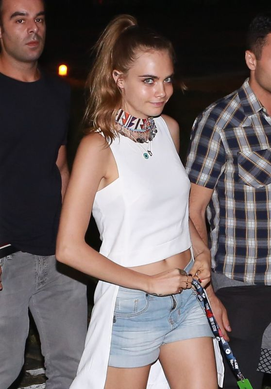 Cara Delevingne - Rock in Rio in Brazil, September 2015
