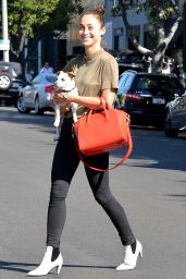 Cara Santana Casual Style - Out in West Hollywood, September 2015