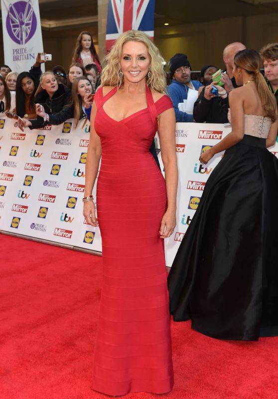 Carol Vorderman - Pride of Britain Awards 2015 in London