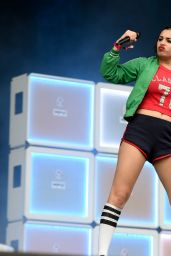 Charli XCX Performs at Bestival on Isle of Wight, September 2015