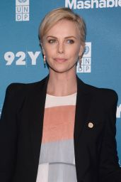 Charlize Theron - 2015 Social Good Summit in New York City