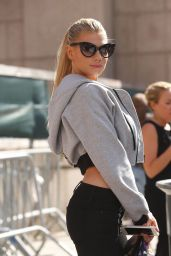 Charlotte McKinney Casual Style - Fashion Week in NYC, September 2015