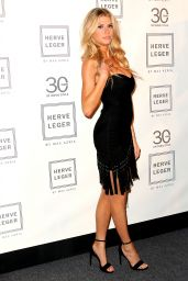 Charlotte McKinney - Herve Leger by Max Azria Fashion Show at NYFW, September 2015