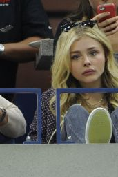 Chloe Moretz at the US Open in NYC, September 2015
