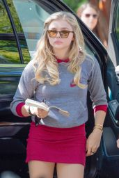 Chloe Moretz on the Set of Neighbors 2: Sorority Rising, September 2015