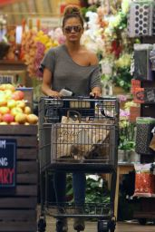Chrissy Teigen Shopping at Bristol Farms in West Hollywood, September 2015