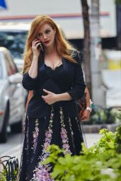 Christina Hendricks - Marchesa Show at New York Fashion Week, September 2015