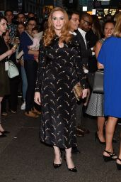 Christina Hendricks - Zac Posen Show at Spring 2016 NY Fashion Week