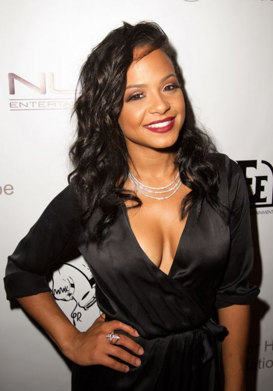 Christina Milian - Diddy and Friends #FINNAGETLOOSE MTV VMA After Party a in Los Angeles