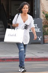Christina Milian - Out and About in Los Angeles, September 2015
