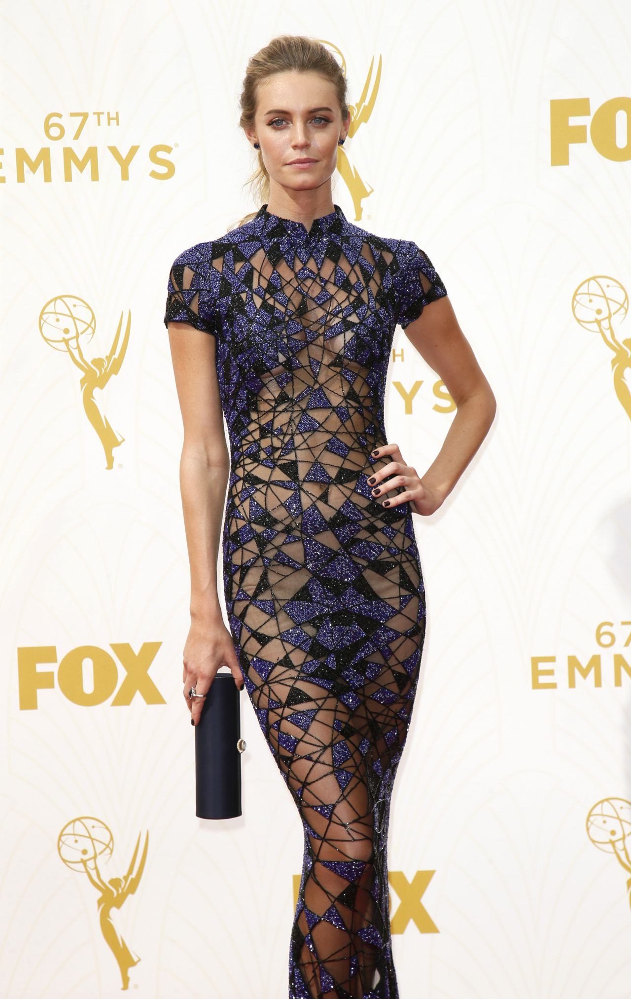 christine marzano 2015 primetime emmy awards in los angeles