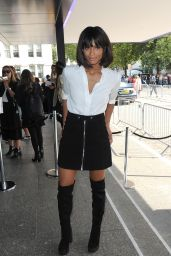 Ciara - at London Fashion Week Spring / Summer 2016 - Topshop Unique
