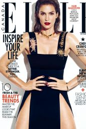 Cindy Crawford - ELLE Magazine Canada October 2015 Issue