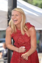 Claire Danes Honored With a Star on the Hollywood Walk Of Fame in Los Angeles