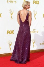 Claire Danes on Red Carpet – 2015 Primetime Emmy Awards in Los Angeles