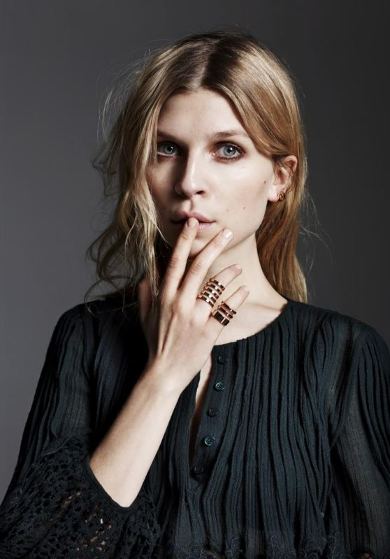 Clemence Poesy - Photoshoot for Telva May 2015