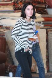 Courteney Cox Shopping in West Hollywood, September 2015