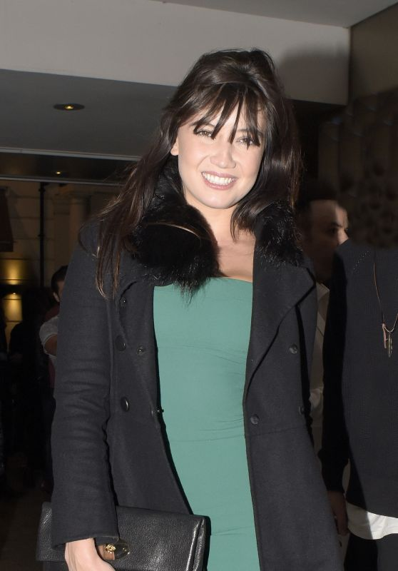 Daisy Lowe - Night Out Style - London, September 2015
