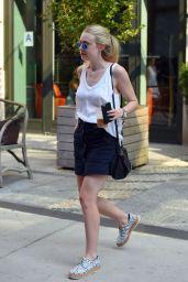 Dakota Fanning - Out in NY, September 2015