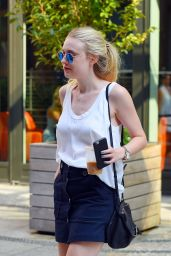 Dakota Fanning - Out in NY, September 2015