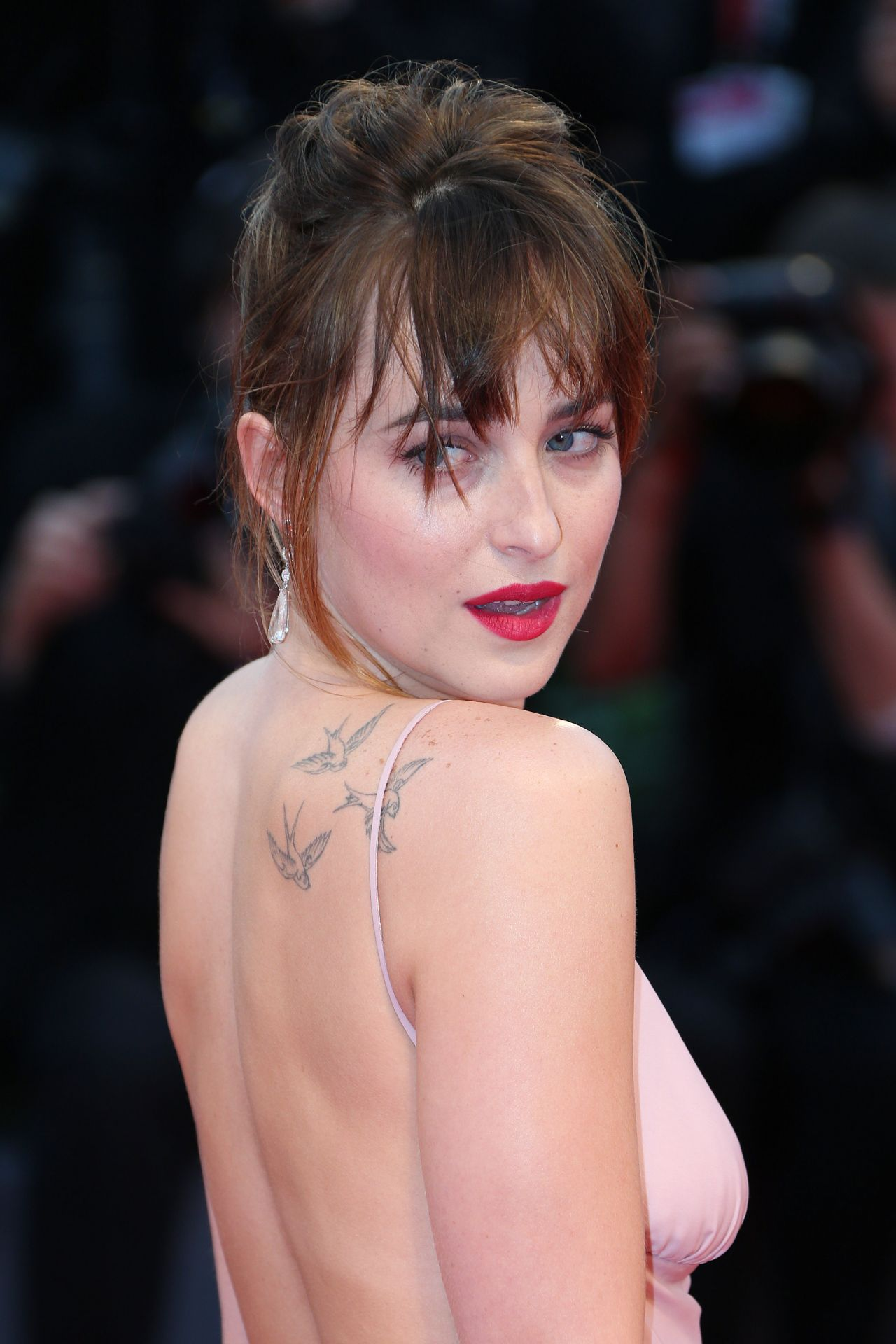 Dakota Johnson Black Mass Premiere 72nd Venice Film