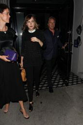 Dakota Johnson Leaving Craig