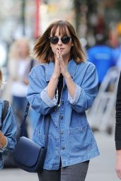 Dakota Johnson - Out in SoHo, New York City, SEptember 2015