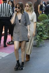 Dakota Johnson - Shopping in Milan During Fashion Week, September 2015