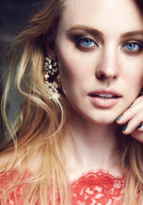 Deborah Ann Woll - Photoshoot for Glow Magazine September 2015