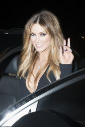 Delta Goodrem - Leaving The Voice Australia Finale in Sydney, August 2015