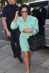 Demi Lovato at Golden Square Studios in London, September 2015
