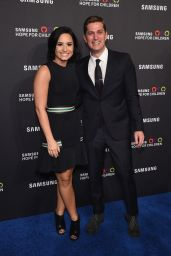 Demi Lovato at Samsung Hope For Children Gala 2015