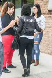 Demi Lovato - Leaving Her Hotel in NYC, September 2015