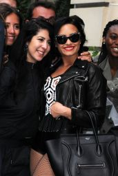 Demi Lovato - Out in Paris, September 2015