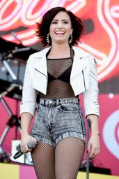 Demi Lovato Performs at iHeart Radio Music Festival Village in Las Vegas