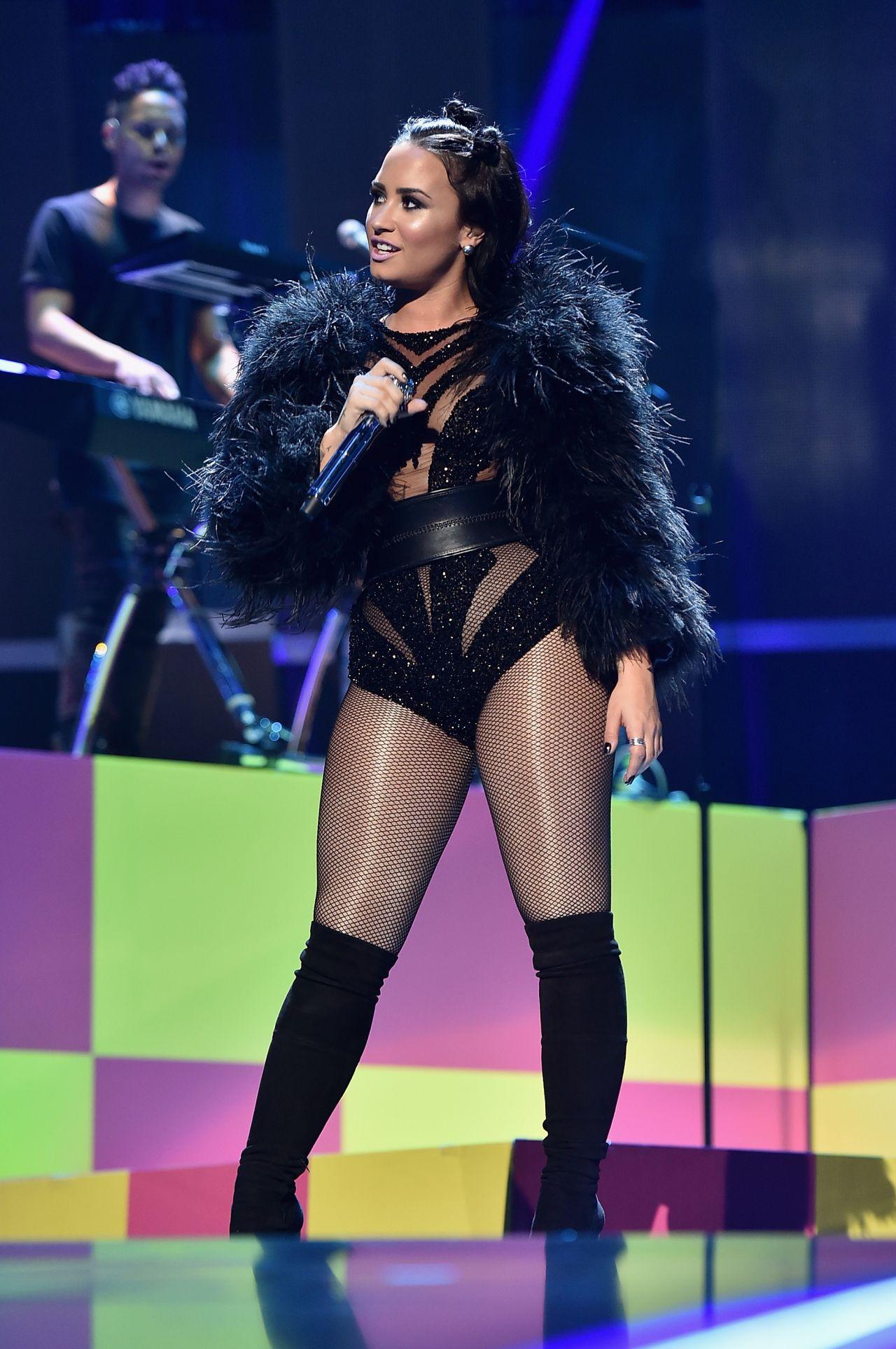Demi Lovato Performs Iheartradio Music Festival Las Vegas September