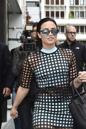Demi Lovato Style - Out in Paris, September 2015